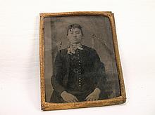 Antique Tin Type Photograph