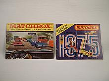 2 1960s-70s Matchbox Cars Catalog