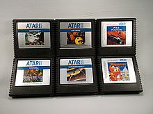 6 Nice Vintage Atari 5200 Games Ex Condition