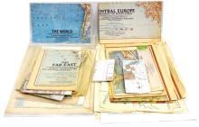 Box Of Vintage Maps