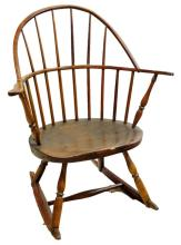 Pair of Barrel Back Windsor Chairs
