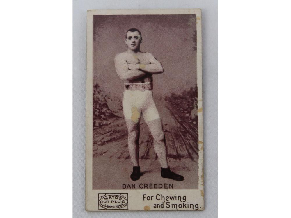 (6) Collection Of Vintage Boxing Cards (1888-1951)