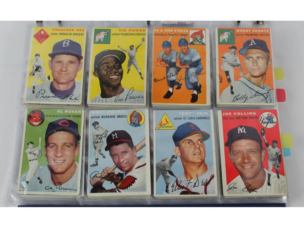 (108) Estate Collection 1954 Topps (minor Stars &)