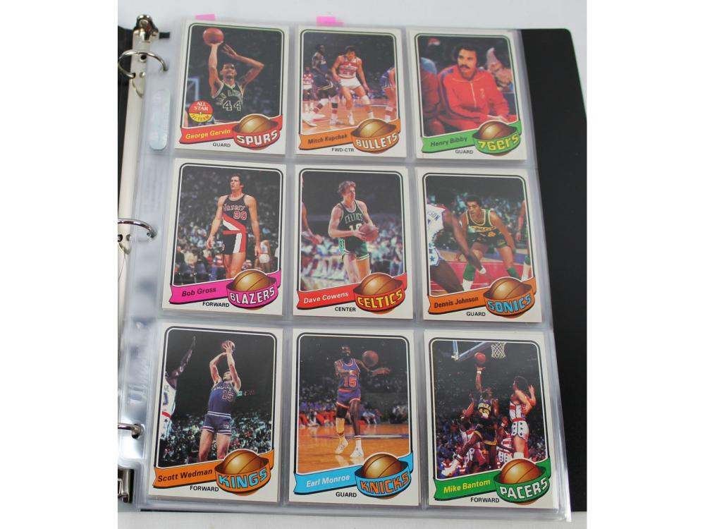 Nm-mt 1979 Topps Basketball Complete Set