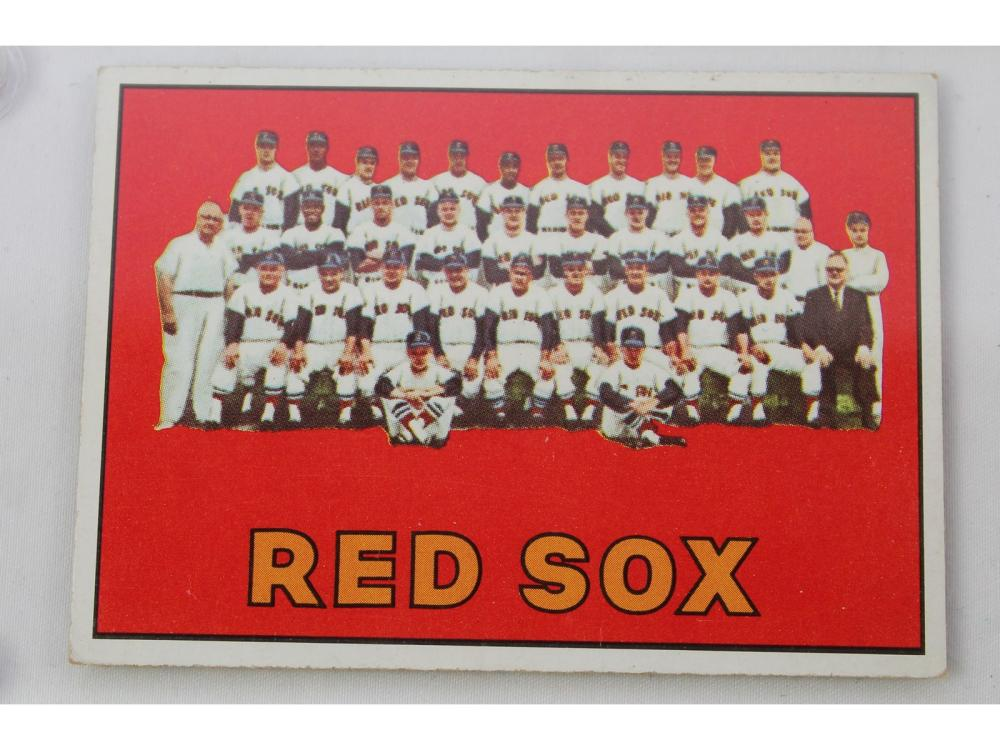 1967 Topps High # - Boston Red Sox #604