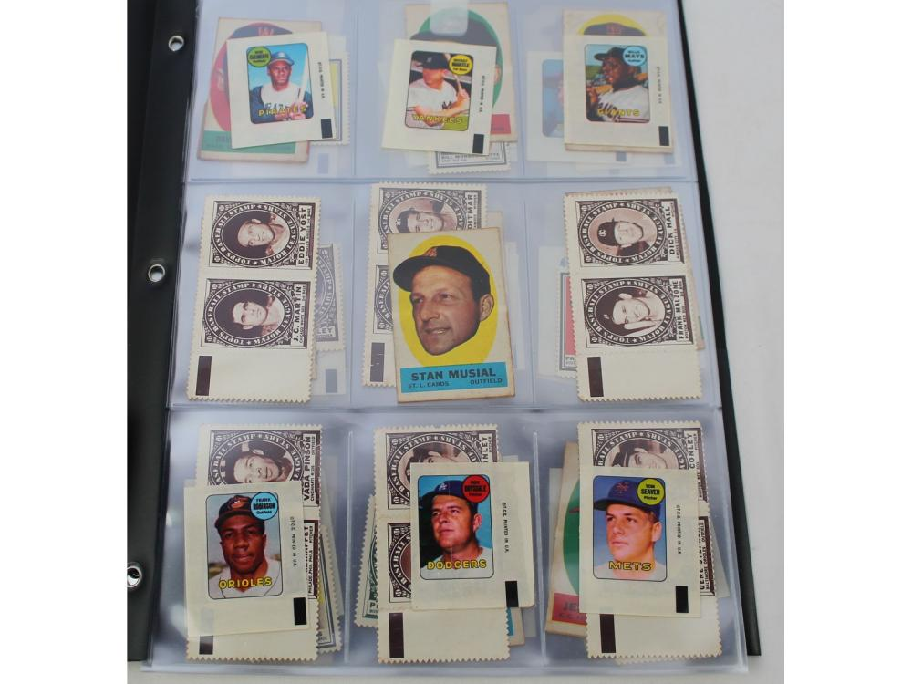 (93) Topps Transfer Iron/stamps (mantle/mays/clem)