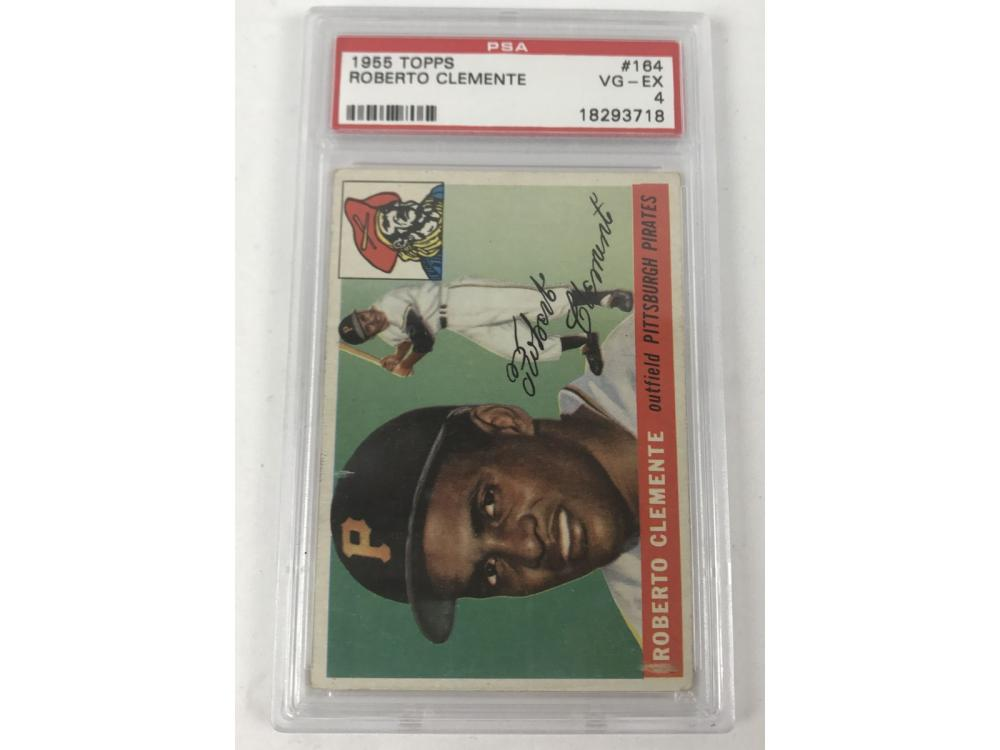 1955 Topps Roberto Clemente Rookie Psa 4