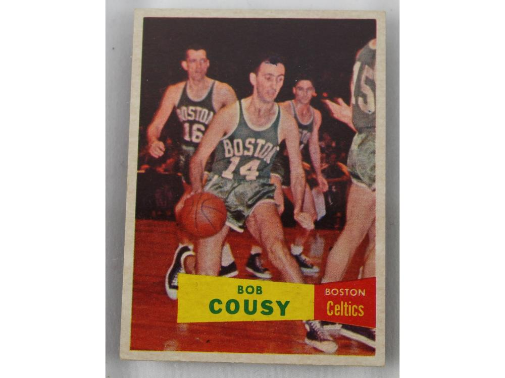 1957 Topps Basketball Complete Set (russell Rc/co)