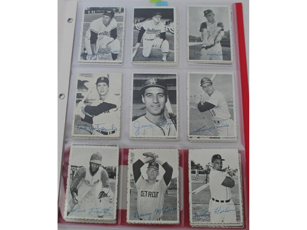 1969 Topps Deckle Edge Complete (rose/mays)
