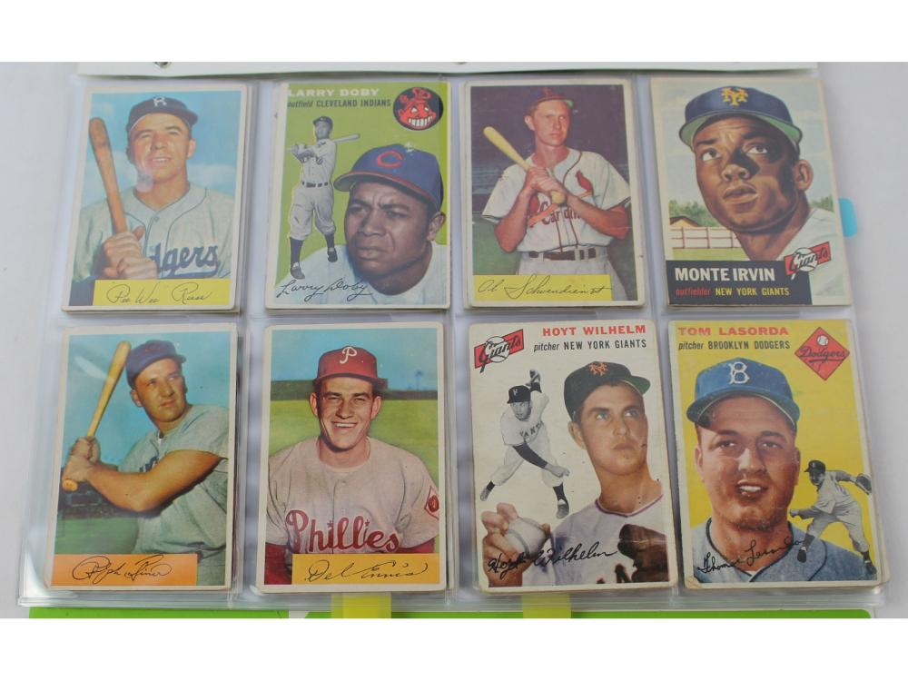 (76) Estate Collection-50s Topps/bowman(hofs)