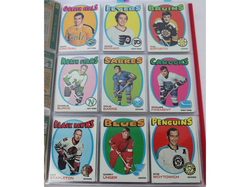 (99/132) 1971 Topps Hockey Partial Set (dryden Rc)