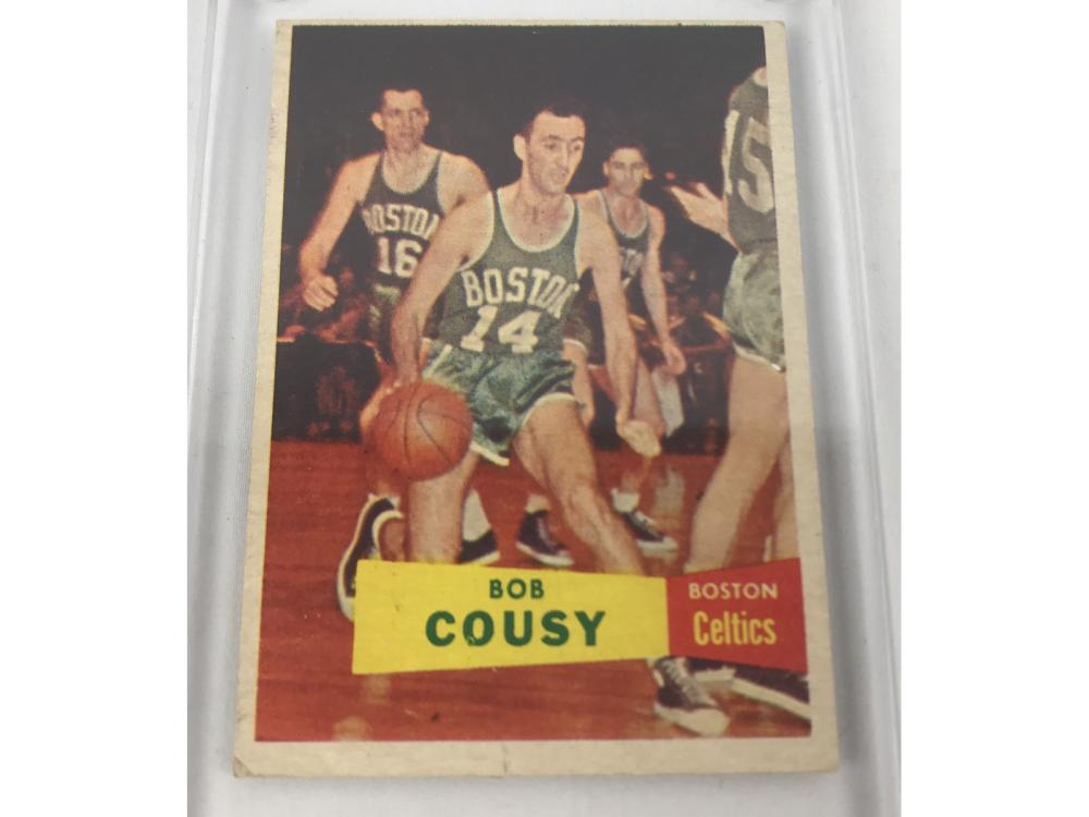 1957 Topps Bob Cousy Rookie Ex/mt