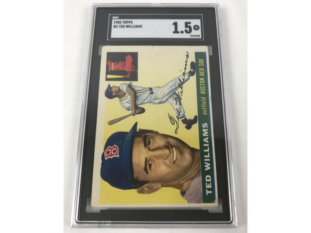 Sgc 1.5 1955 Topps Ted Williams #2
