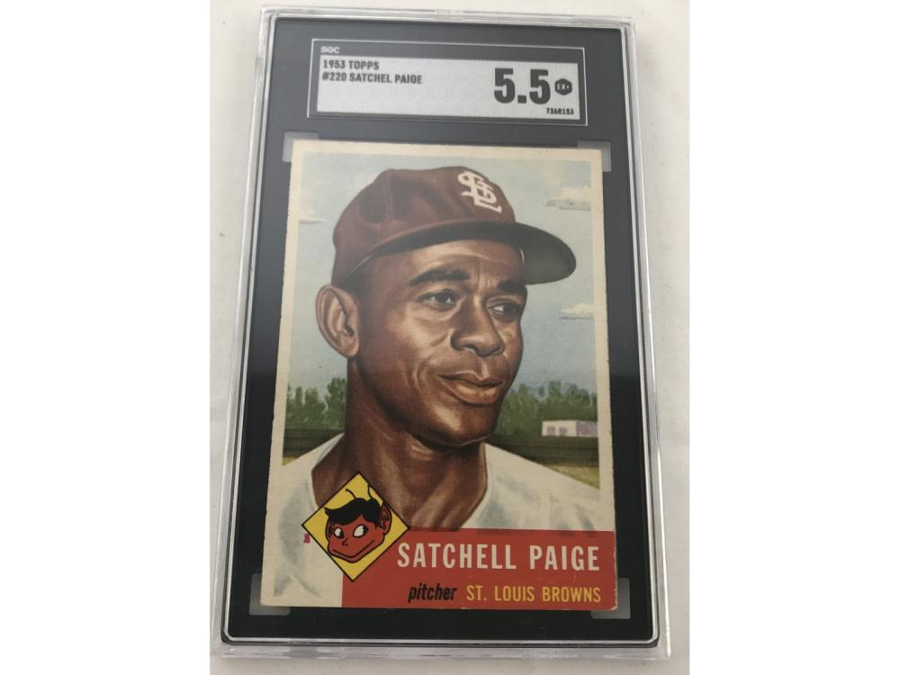 Sgc 5.5 1953 Topps Satchell Paige