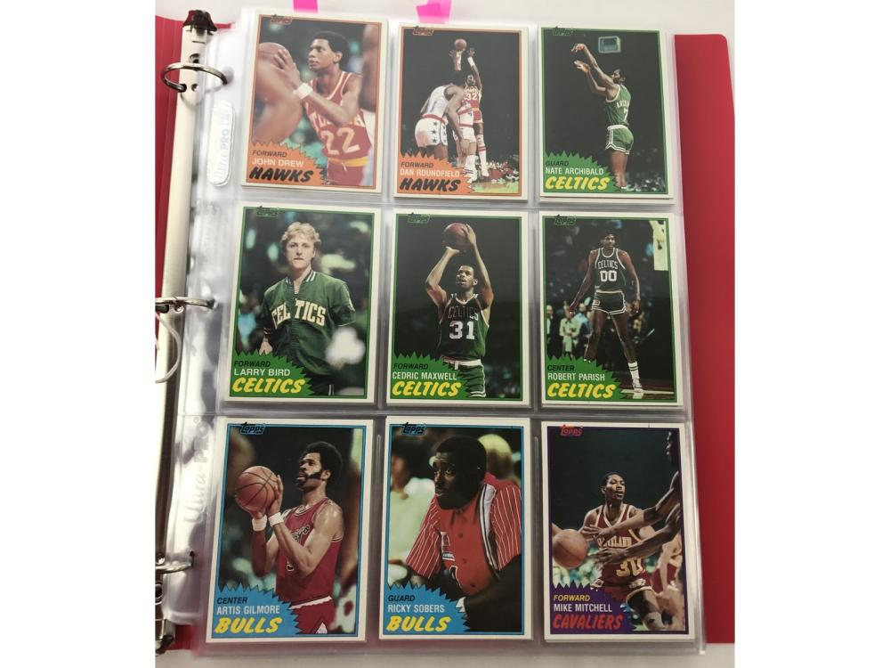 1981 Topps Basketball Complete Set