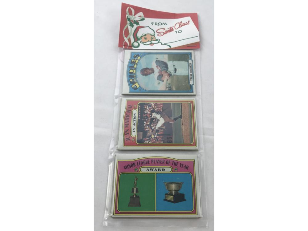 1972 Topps Christmas Rack Pack High Numbers
