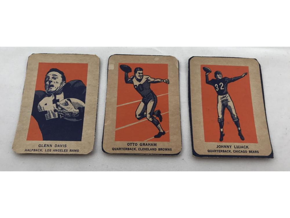 5 1952 Wheaties Sports Cards