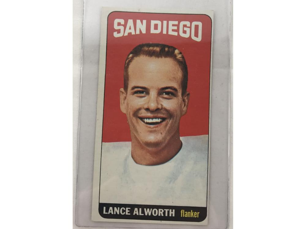 9 1965 Topps Football Cards