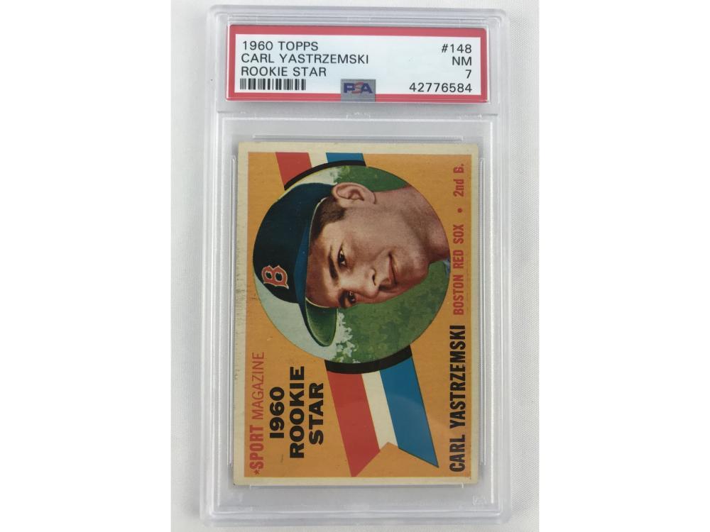 Psa 7 - 1960 Topps Carl Yastrzemski Rookie