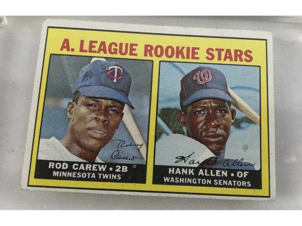 1967 Topps Rod Carew Rookie #569
