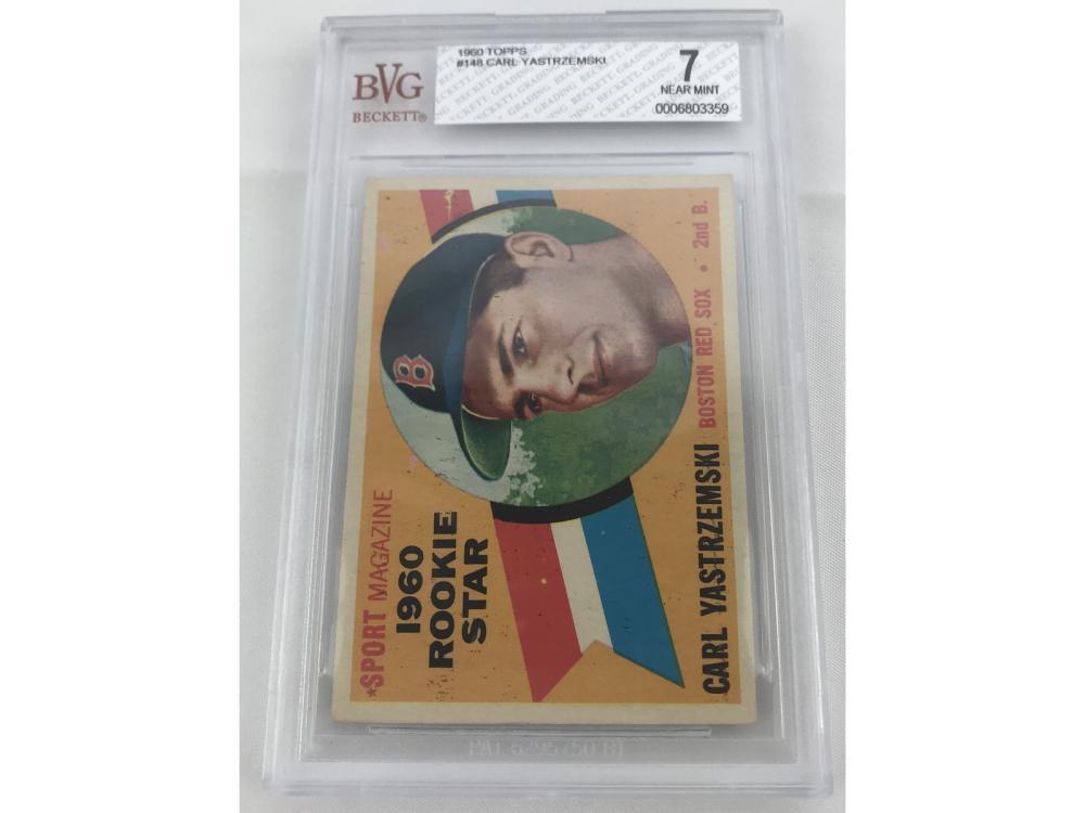 1960 Topps Carl Yastrzemski Rookie Bvg 7