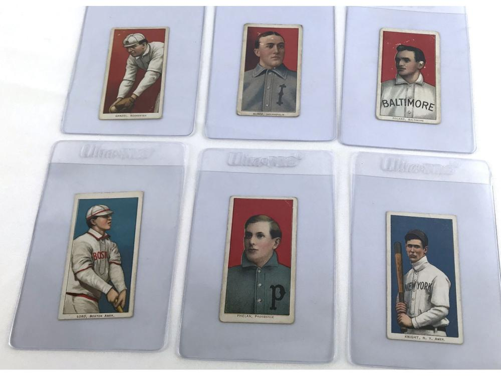 (14) 1909 T206 Tobacco Cards-g-vg
