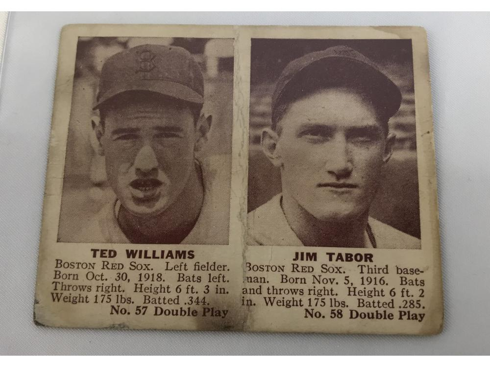 1941 Double Play Ted Williams #57 (williams/tabor)
