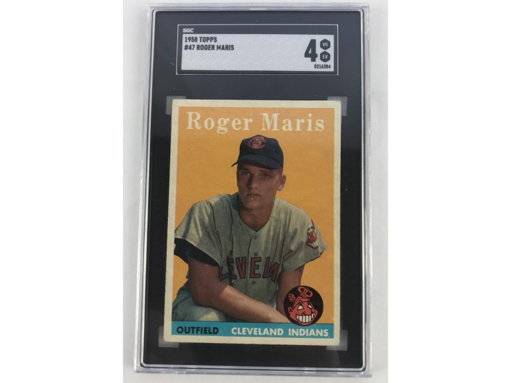 Sgc 4 1958 Topps Roger Maris #47 -- Rookie