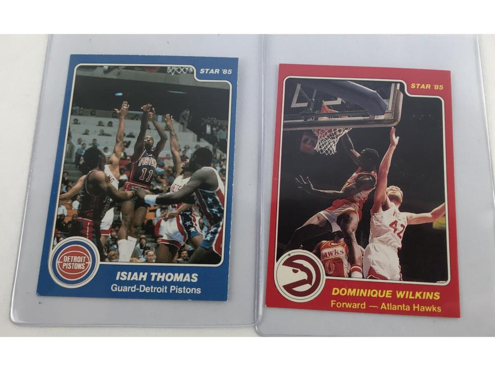 (2) 84 Star Basketball-thomas/wilkins Rcs