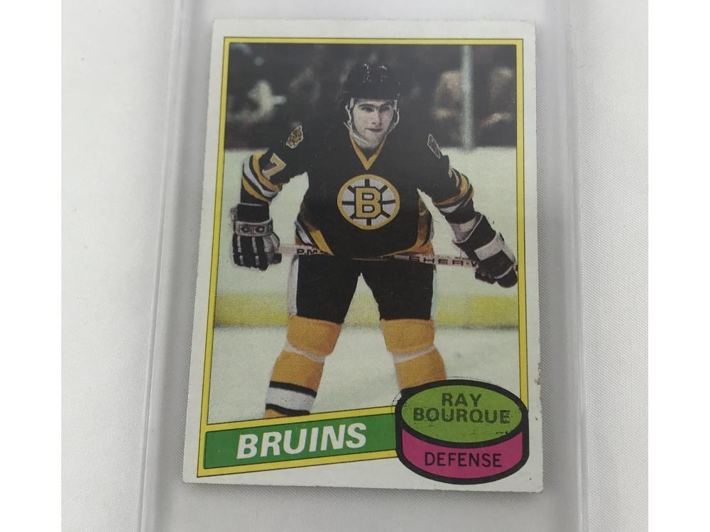 1980 Topps Ray Bourque Rookie Near Mint