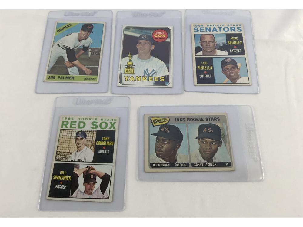 (16) 60s Baseball Hof Lot Bv $1,222