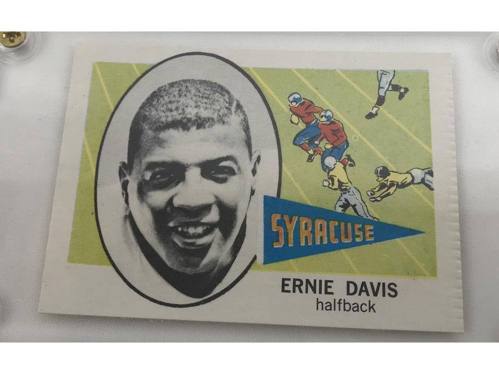 1961 Nu Cards Ernie Davis Rookie