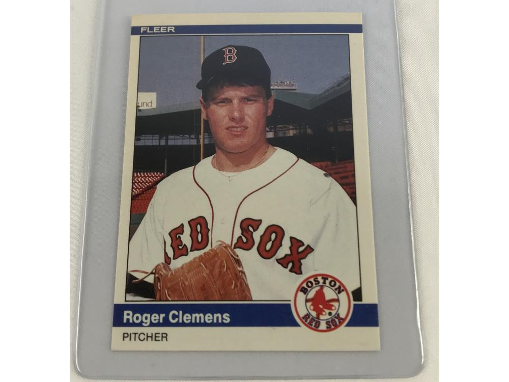 (nm) 1984 Fleer Red Sox Team Set (clemens)