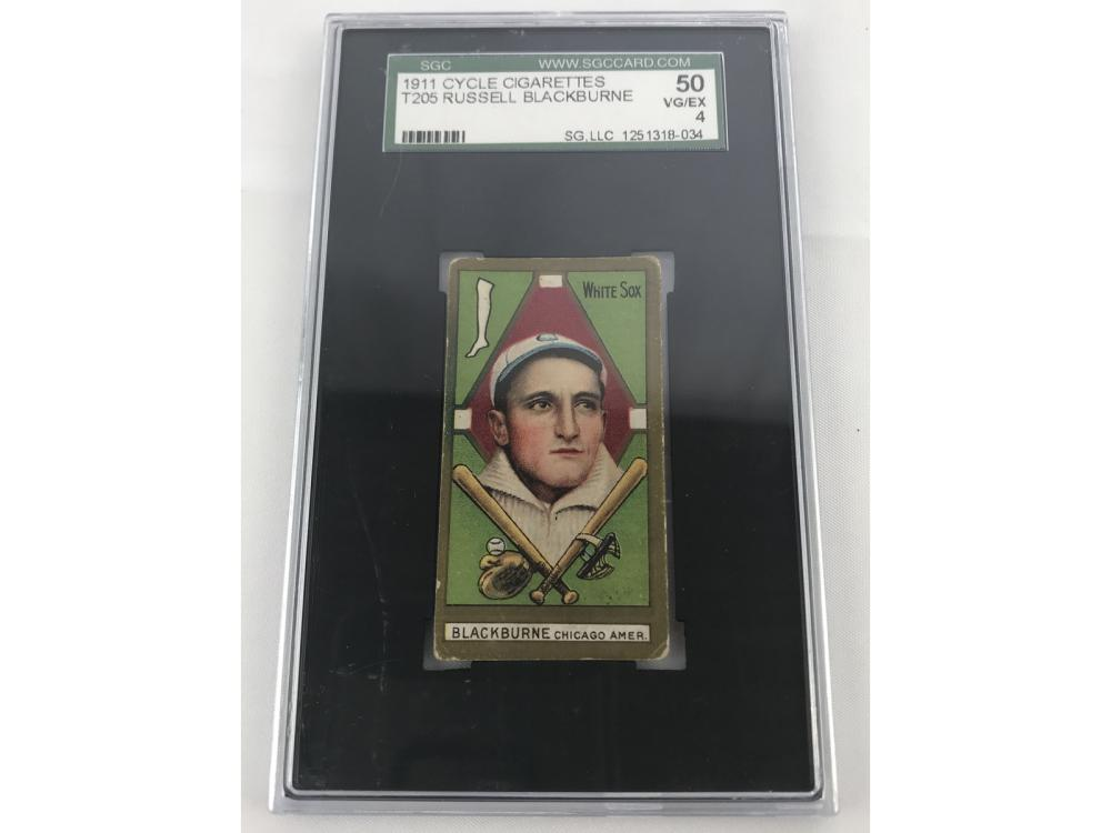 1911 T205 Russell Blackburne Sgc 50