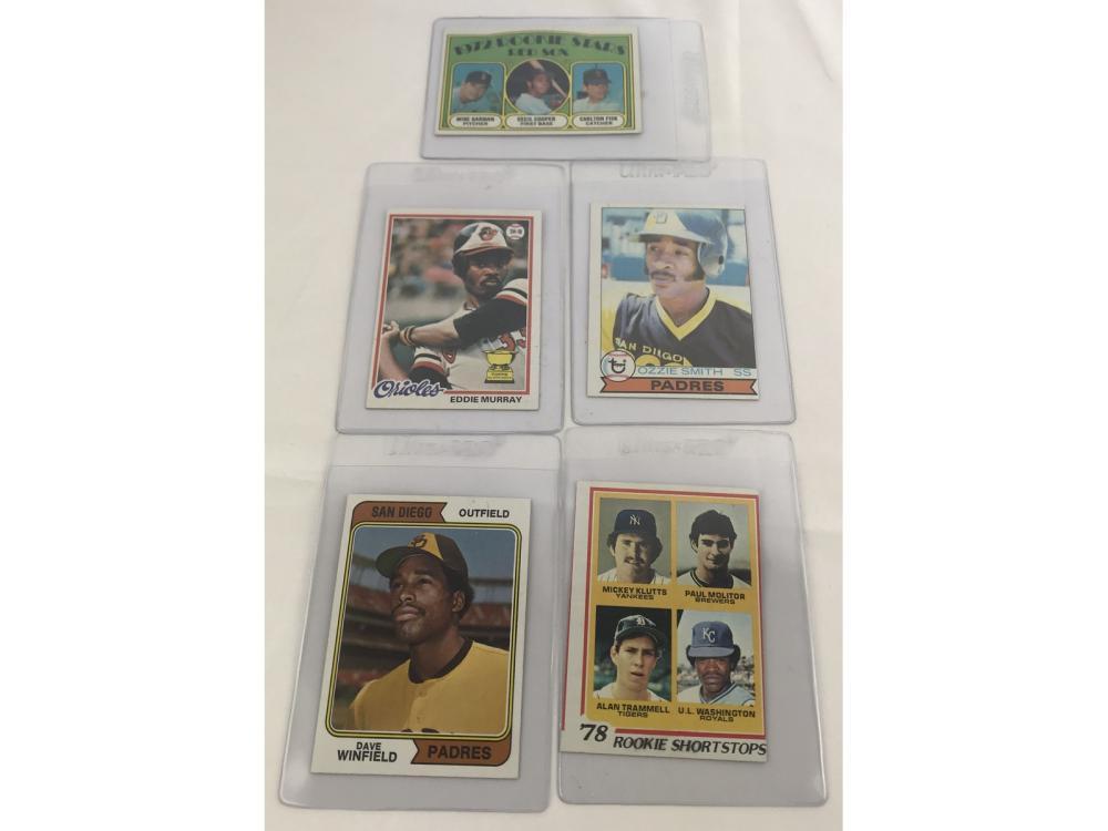 (14) 1970s Topps Baseball Rookies-bv $358