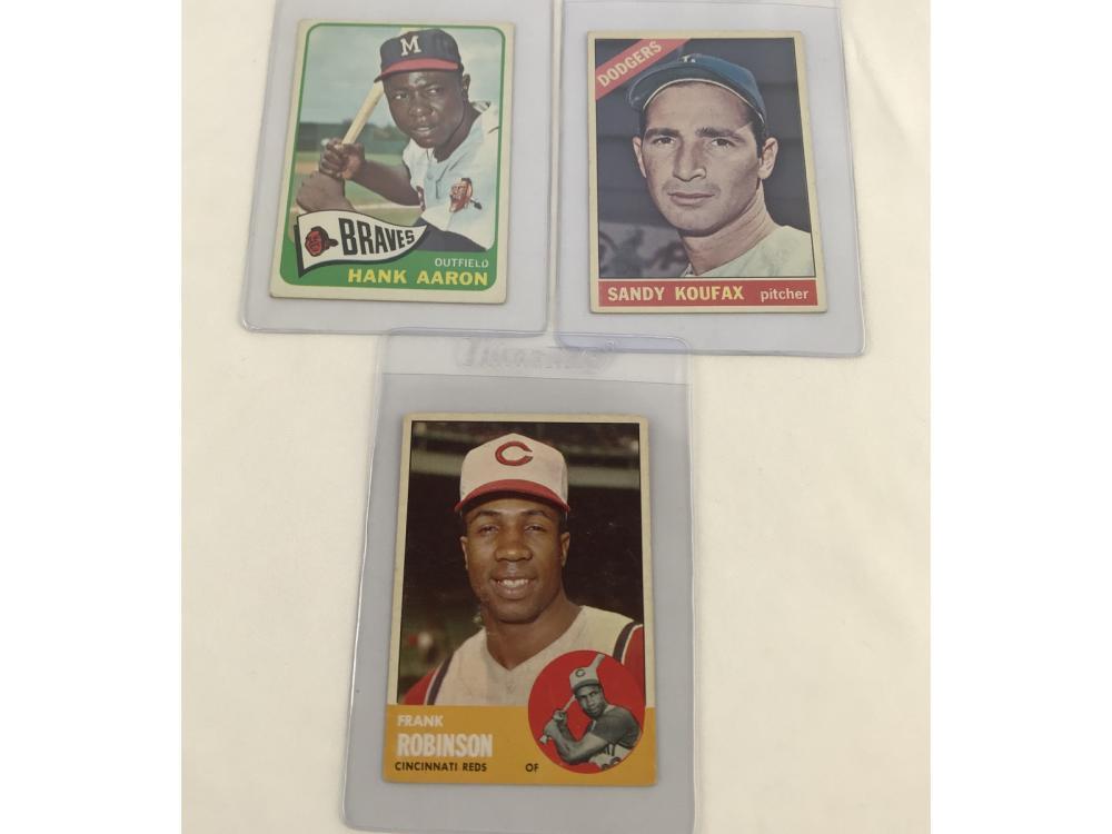 (16) 60s Baseball Hof Lot Bv $705