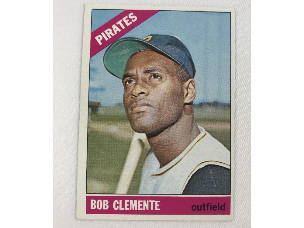 1966 Topps Roberto Clemente #300 Bv $150