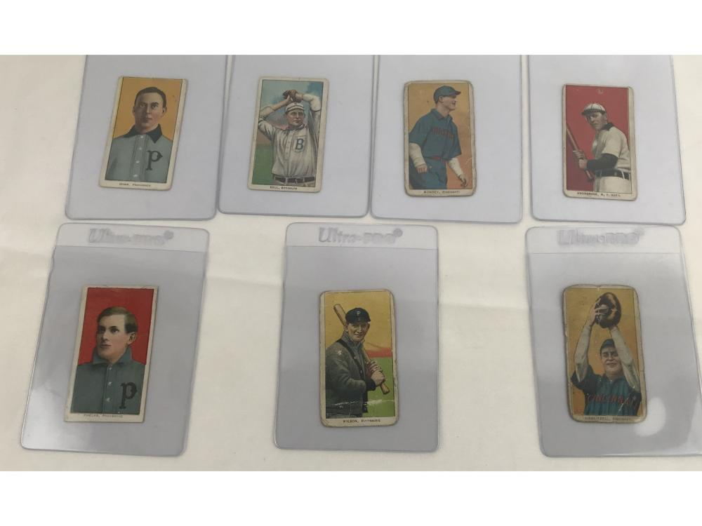 (7) Estate Collection-1909 T206 Tobacco Cards