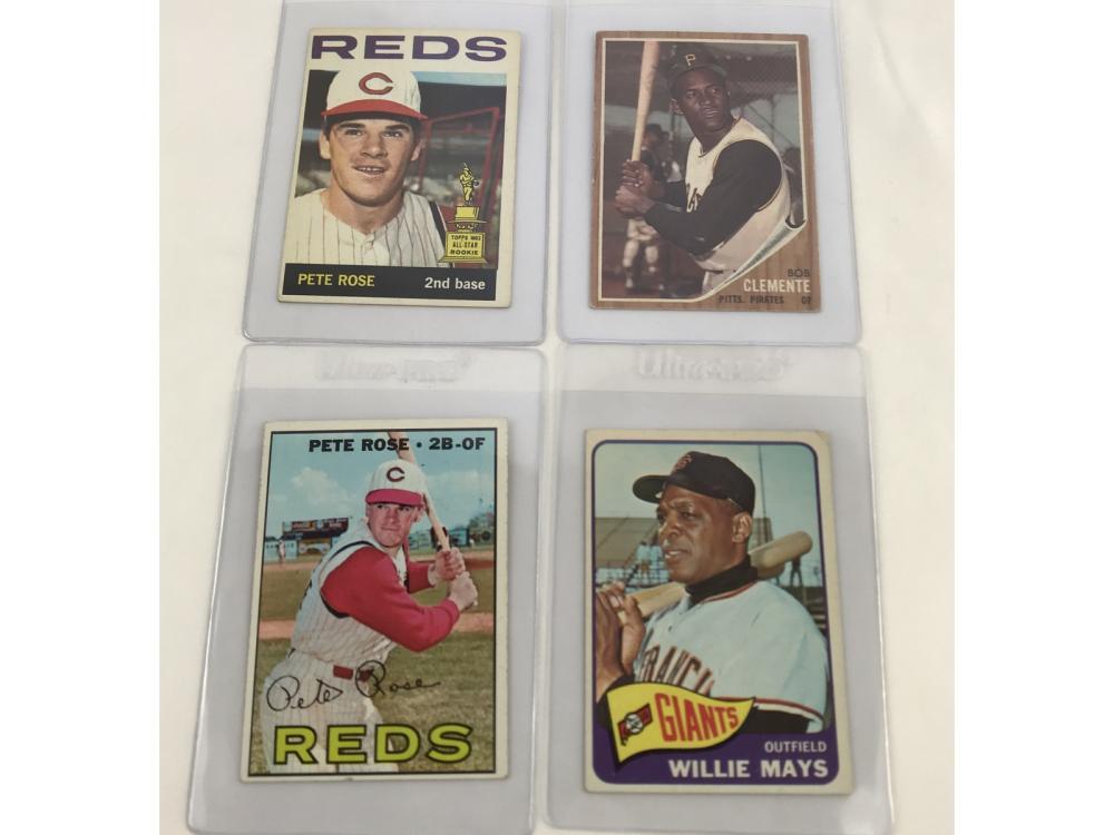 (20) 60s Baseball Hof Lot Bv $1,290