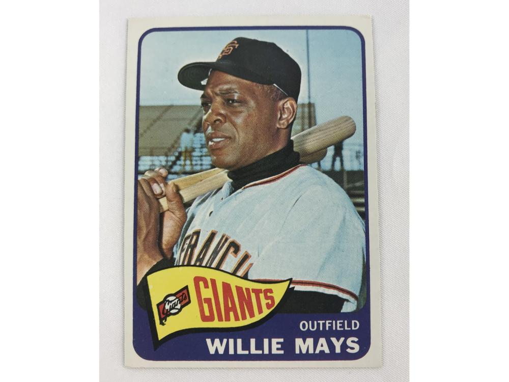 (nm+) Well Centered 1965 Topps Willie Mays