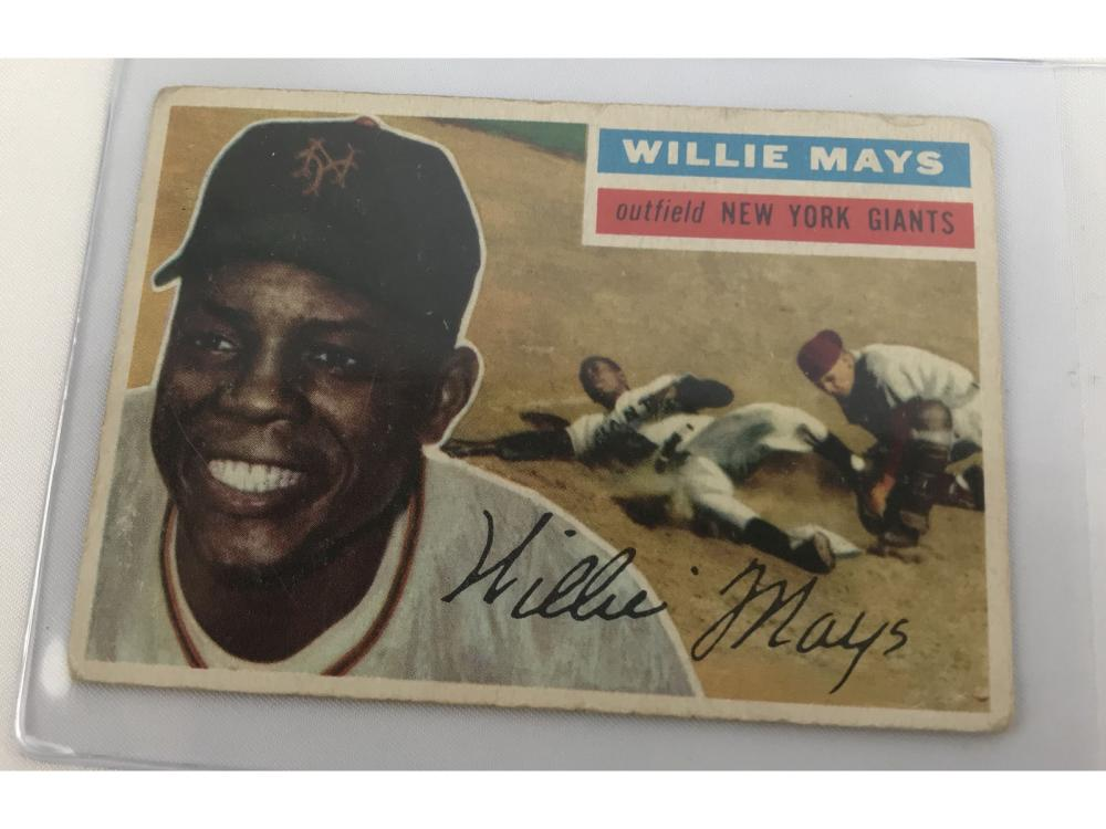 1956 Topps Willie Mays #130