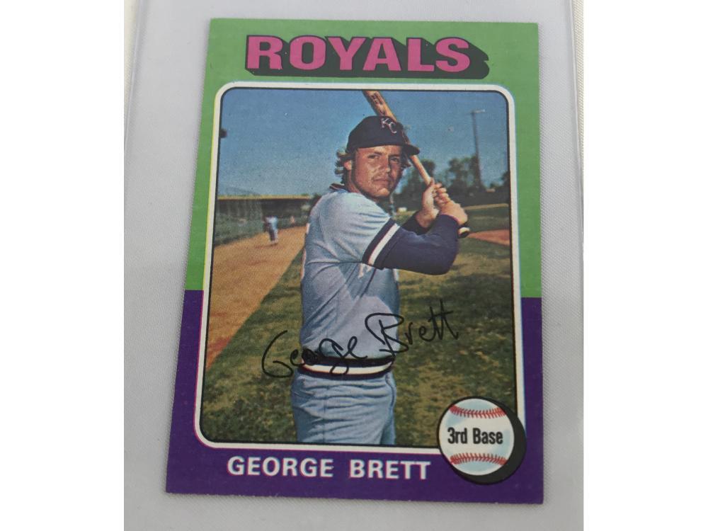 "High Grade 1975 Topps ""mini"" George Brett Rc"