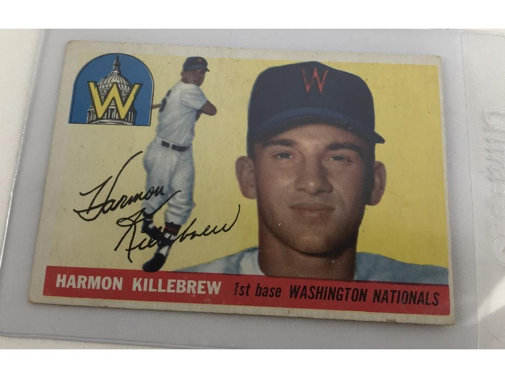 (7) Hof Harmon Killebrew Cards (1955 Topps Rc)