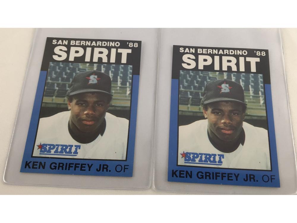 (2) High Grade 1988 San Bernardino Ken Griffey Jr