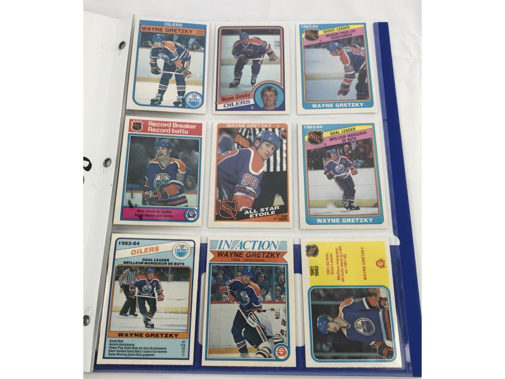 (11) High Grade Opc Wayne Gretzky - 82-84