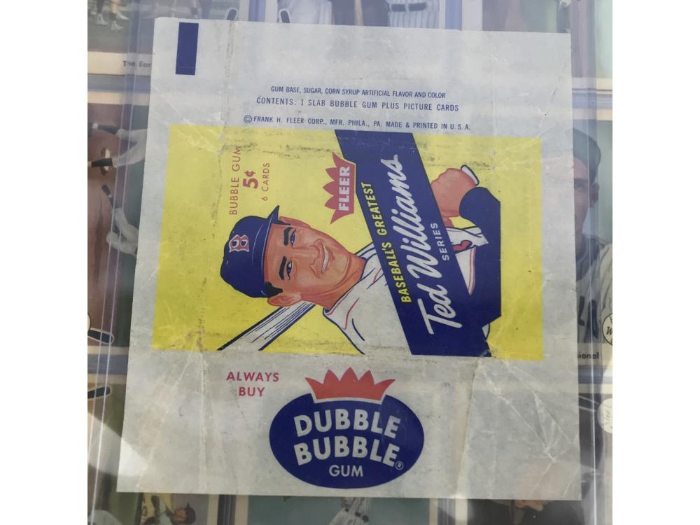 1959 Fleer Ted Williams Complete Set W/ Wrapper