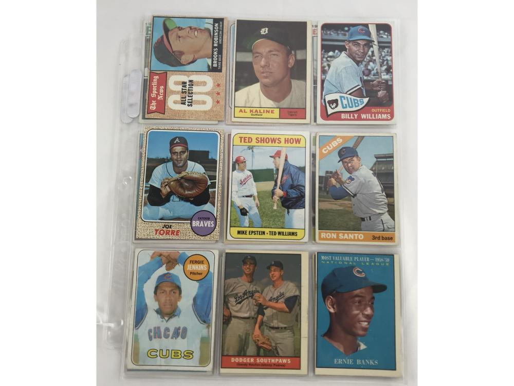 18 1960's Baseball Hof Players