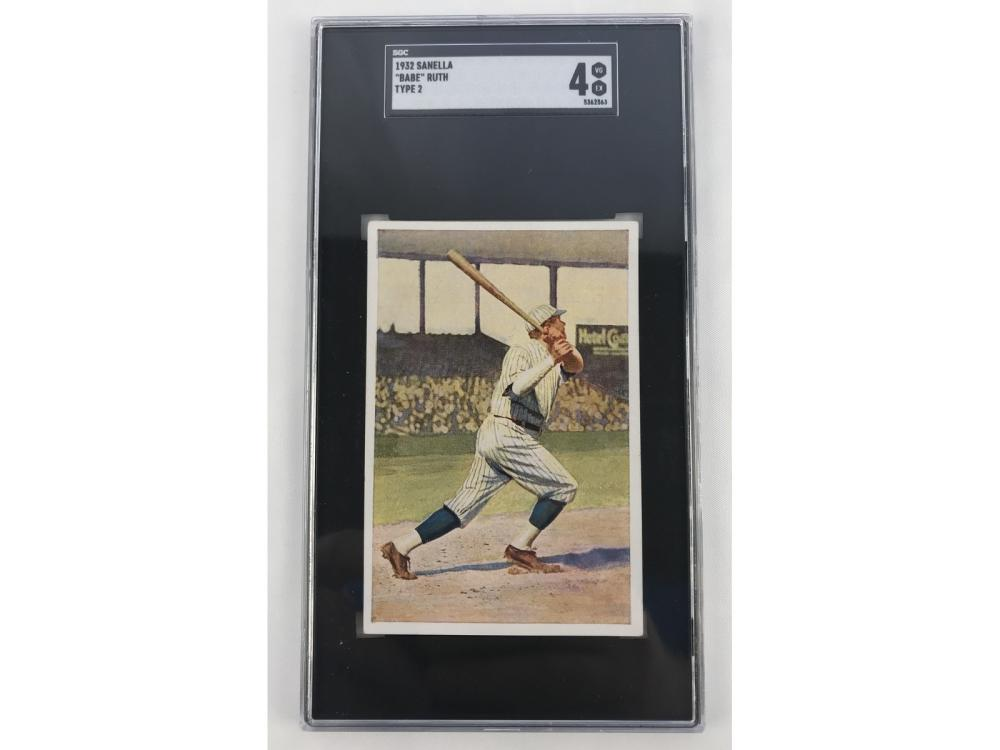 Sgc 4 - 1932 Sanella Babe Ruth (type 2)