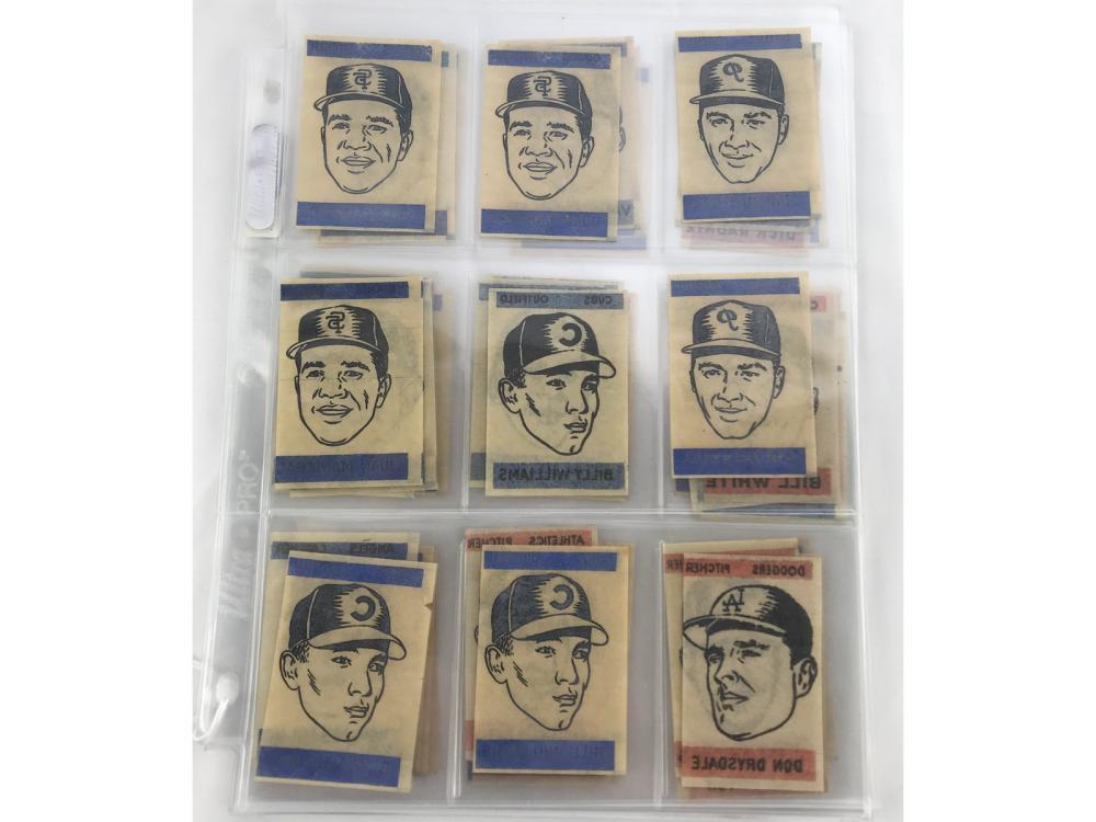 48 1965 Topps Transfers 9 Hof