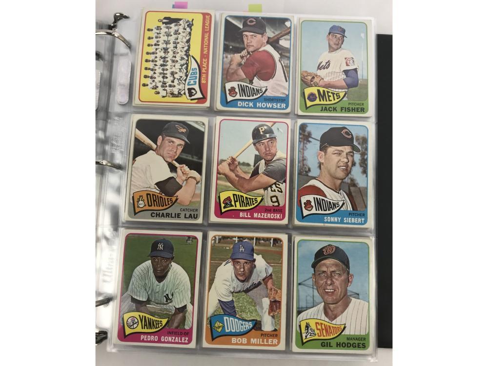 (598/598) 1965 Topps Baseball Complete Set